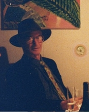 Author photo. James Hillman 1989