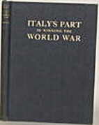 Italy's part in winning the world war by…