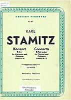 Konzert B-dur für klarinette und orchester…