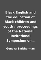 Black English and the education of Black…