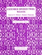Extended Divided Twill Weaves (Shuttle Craft…