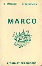 Marco by Agnès Lemmens
