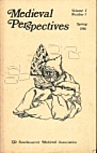 Medieval Perspectives Volume 1 Number 1…
