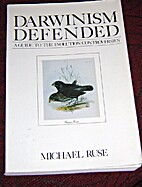 Darwinism Defended (Addison-Wesley Series in…