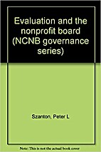 Evaluation and the nonprofit board (NCNB…