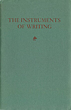 The instruments of writing; translated from…