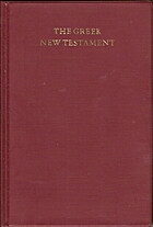 The Greek New Testament by Kurt Aland