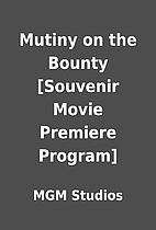 Mutiny on the Bounty [Souvenir Movie…