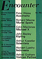 Encounter, vol. XXV, 6, December 1965