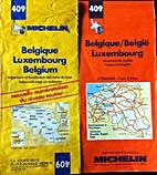 Belgique/België Luxembourg : 1:350.000 409…