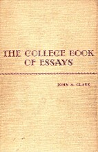 the college book of essays by John Abbot…