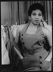 """Author photo. Photo by Carl Van Vechten, May 19, 1953 """"Porgy and Bess"""" (Library of Congress, Carl Van Vechten Collection, Reproduction number: LC-USZ62-94217)"""