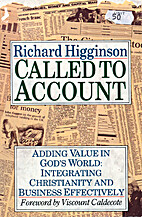 Called to Account by Richard Higginson