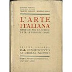 L'arte italiana. Manuale per le scuole et…