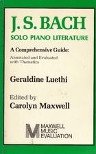 Bach Solo Piano Literature by Carolyn…