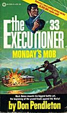 Monday's Mob by Don Pendleton