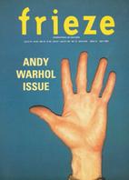 Frieze : International Art Magazine, Issue…