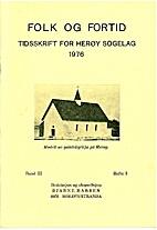 Folk og Fortid Tidsskrift for Herøy Sogelag…