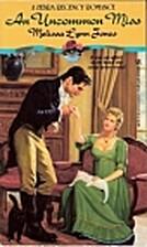 An Uncommon Miss by M. L. Jones