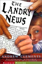 The Landry News by Andrew Clements