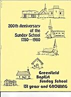 200th Anniversary of the Sunday School…