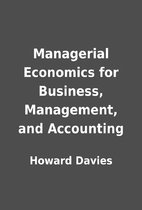 Managerial Economics for Business,…