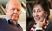 Author photo. Husband and wife John Burningham and Helen Oxenbury.