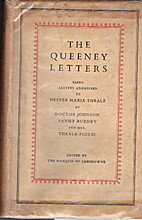 The Queeny Letters: Being Letters Addressed…