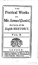 The poetical works of Mr. Samuel Daniel,…