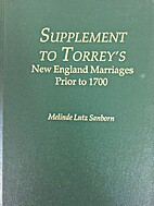 Supplement to Torrey's New England…