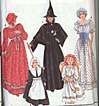 Simplicity 9808 ~ Misses Angel, Witch,…
