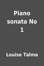 Piano sonata No 1 by Louise Talma