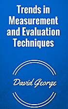 Trends in Measurement and Evaluation…