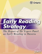 Early Reading Strategy by Ontario Ministry…