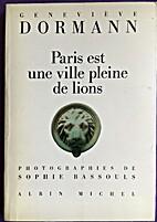 Paris est une ville pleine de lions by…