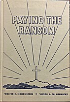 PAYING THE RANSOM Lenten, Easter Sermons by…