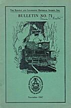 Bulletin n° 71 by Charles E. Fischer