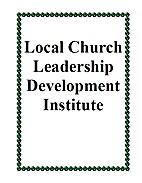 Local Church Leadership Development…