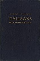 Italiaans woordenboek. Dl. 1:…