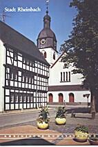 Stadt Rheinbach by Carl-Wilhelm Clasen