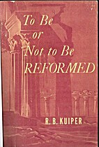 To be or not to be reformed. Whither the…