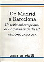 De Madrid a Barcelona : un testimoni…