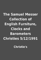 The Samuel Messer Collection of English…