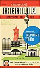 Stadtplan Berlin Hauptstadt der DDR: Reprint…