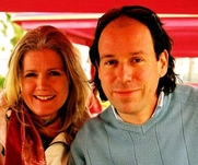 Author photo. Catherine and Laurence Anholt