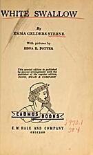 White Swallow by Emma Gelders Sterne