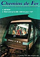 Chemins de fer n°461 by Bernard Porcher