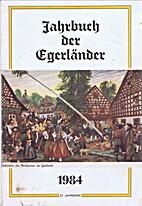 Jahrbuch der Egerländer: 1984