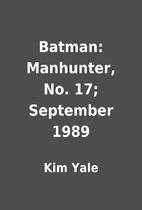 Batman: Manhunter, No. 17; September 1989 by…