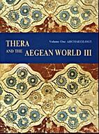 Thera and the Aegean World III (3 Vols.):…